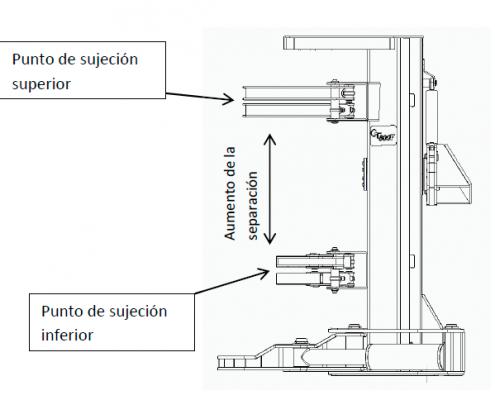 El mecanismo de sujeción del CT800F ha sido mejorado por Carrocerías Tambre