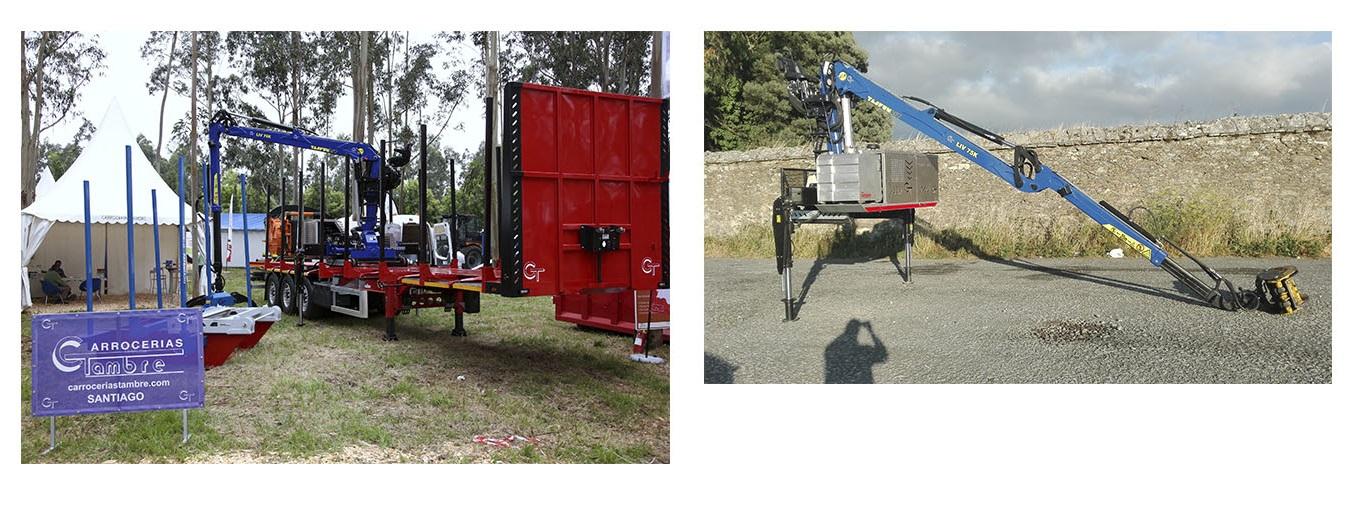 Nuestras grúas forestales, autónomas y montadas