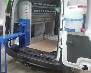 equipamiento para furgonetas y vehículos comerciales en Galicia